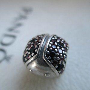 PANDORA Sparkling  Ladybug Charm 791484CFR